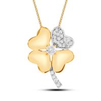 Goldstore Altın Şanslı Yonca Kolye Gp41651