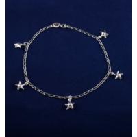 Akyüz Gümüş Deniz Yıldızı Gümüş Halhal Hl029