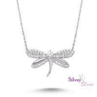 Silver & Silver Swarovski Yusufcuk Kolye