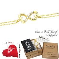 Glorria 14 Ayar Altın Sonsuzluk Bileklik - TKGLORCN0033-A