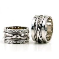Berk Kuyumculuk Gümüş Alyans 5772(çift)