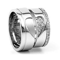 Berk Kuyumculuk Gümüş Alyans 5777(çift)