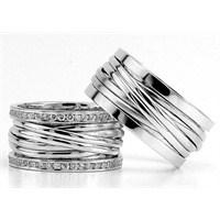 Berk Kuyumculuk Gümüş Alyans 5779