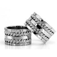 Berk Kuyumculuk Gümüş Alyans 5785(çift)