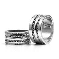 Berk Kuyumculuk Gümüş Alyans 5796(çift)