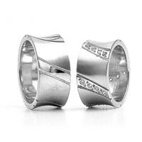 Berk Kuyumculuk Gümüş Alyans 5797(çift)