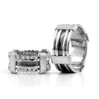Berk Kuyumculuk Gümüş Alyans 5802(çift)