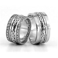Berk Kuyumculuk Gümüş Alyans 5813(çift)