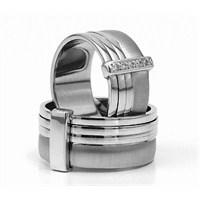 Berk Kuyumculuk Gümüş Alyans 5820(çift)