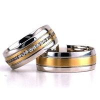 Berk Kuyumculuk Gümüş Alyans 5824(çift)