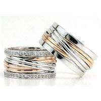 Berk Kuyumculuk Gümüş Alyans 5831(çift)
