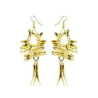 Chiccy Altın Mercanlar Küpe