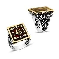 Beyazıt Takı İstanbul'un Fethi 1453 925 Ayar Gümüş Yüzük