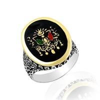 Beyazıt Takı Devlet Armalı 925 Ayar Gümüş Yüzük