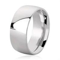 Ejoya 9 Mm Klasik Gümüş Alyans A3000