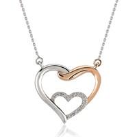 Melin Paris Pırlanta Altın Love İn Love Kalp Kolye