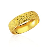Forentina Altın Kaplama Lazer İşlemelli Bilezik Fr0292