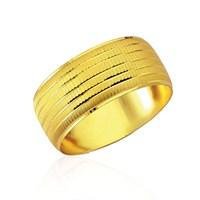Forentina Altın Kaplama Lazer İşlemeli Bilezik Fr0295