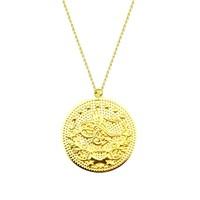 Melis Gold Altın Osmanlı Tuğra Kolye Kly00990
