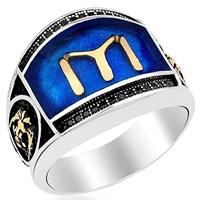 Tesbihevim Kayı Boyu Erkek Gümüş Yüzüğü