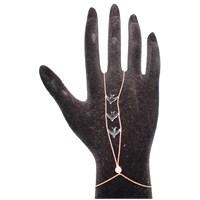 Nusret Takı 925 Ayar Gümüş Kırlangıçlı Şahmeran Bileklik - Pembe Siyah