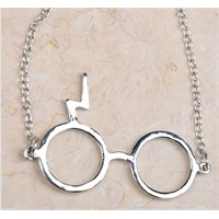 Köstebek Harry Potter Glasses Kolye