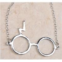 Köstebek Harry Potter Glasses Kolye