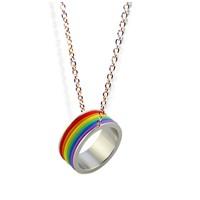 Köstebek Lgbt - Rainbow Kolye