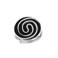 Argentum Concept Ac Mühür Koleksiyonu: Çatalhöyük Spiral Motifli Gümüş Yüzük