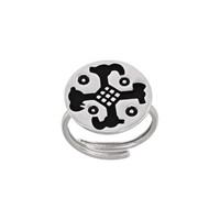 Argentum Concept Ac Mühür Koleksiyonu: Hitit Kartal Kafası Betimli Gümüş Yüzük