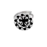 Argentum Concept Ac Mühür Koleksiyonu: Hitit Çift Başlı Kartal Motifli Gümüş Yüzük