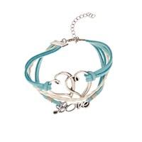 Betico Fashion Mavi Aşk Bilekliği