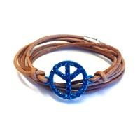 Betico Fashion Mavi Barış Bilekliği