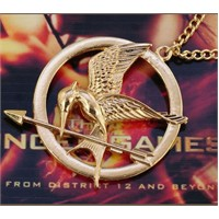 Modalina Alaycı Kuş Madalyon Kolye