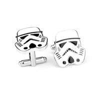 Modakedi Star Wars Beyaz Stormtrooper Kol Düğmesi