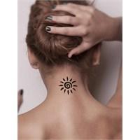 One Spray Tattoo Güneş Kadar Sıcak
