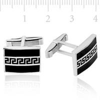 Tekbir Silver 925 Ayar Gümüş Kol Düğmesi CFL94121024