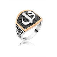 Olivin Accessories Gümüş Elif Vav Yüzük 605572