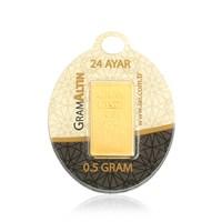 IAR 24 Ayar Külçe Gram Altın 0,5 Gr.