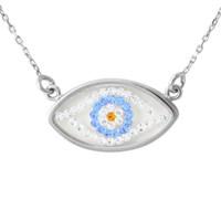 AltınSepeti Gümüş Göz Kolye SU8216