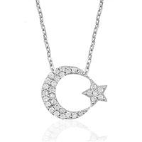 Olivin Accesories Gümüş Ay 432300