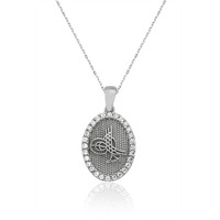 Olivin Accesories Gümüş Tuğra Kolye 432650