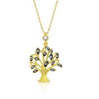 Olivin Accesories Gümüş Dilek Ağacı Kolye 432685