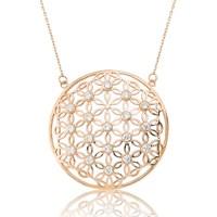 Olivin Accesories Gümüş Yaşam Çiçeği Kolye 432752