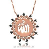 Olivin Accesories Gümüş Allah Yazılı Kolye 432779