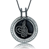 Olivin Accesories Gümüş Tuğra Kolye 432797