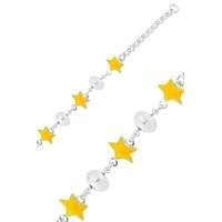 Olivin Accesories Sarı Yıldız Çocuk Bileklik 433181
