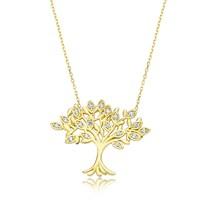 Diva 14 Ayar Altın Hayat Ağacı Kolye