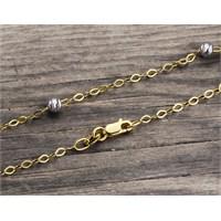14 Ayar Altın Bileklik Zinciri Zn0044