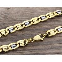 14 Ayar Altın Bileklik Zinciri Zn0032